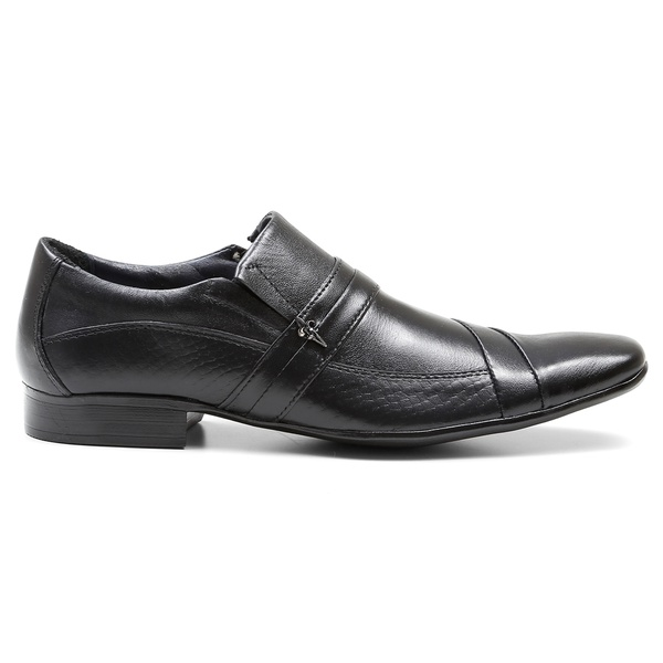 Sapato Social Pelica/Serpente Preto