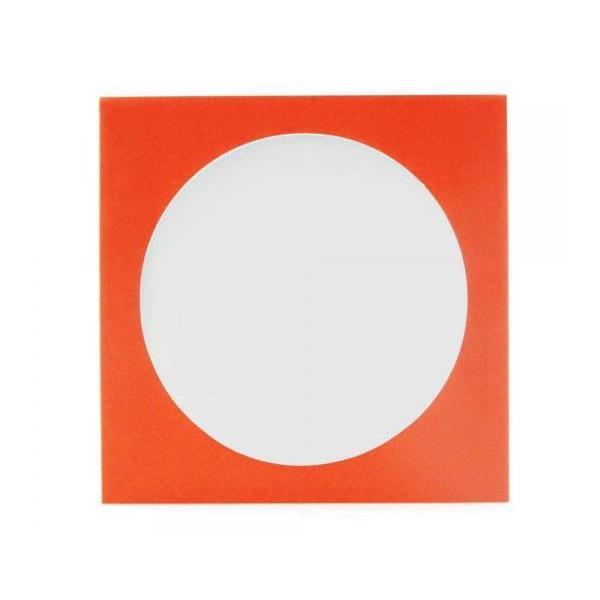 Envelope Papel c/ Visor Vermelho - c/100un.