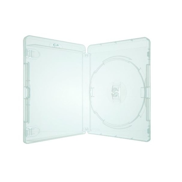 Box DVD Blu Ray Transparente c/05un.