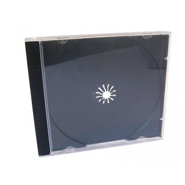 Box CD Acrílico Bandeja Preta c/1.000un.