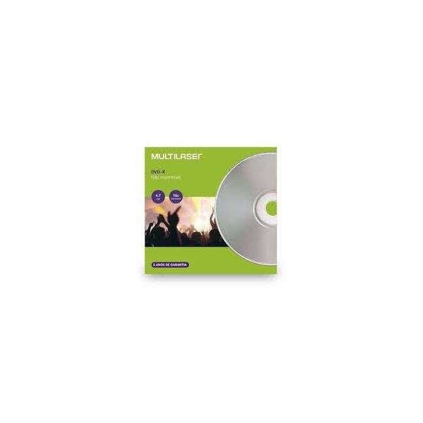 DVD-RW MULTILASER ENVELOPE 120MIN/4.7GB/4X DV064 - C/01UN.