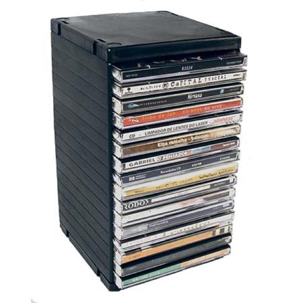 PORTA CD RACK NEWNESS P/16 CDS