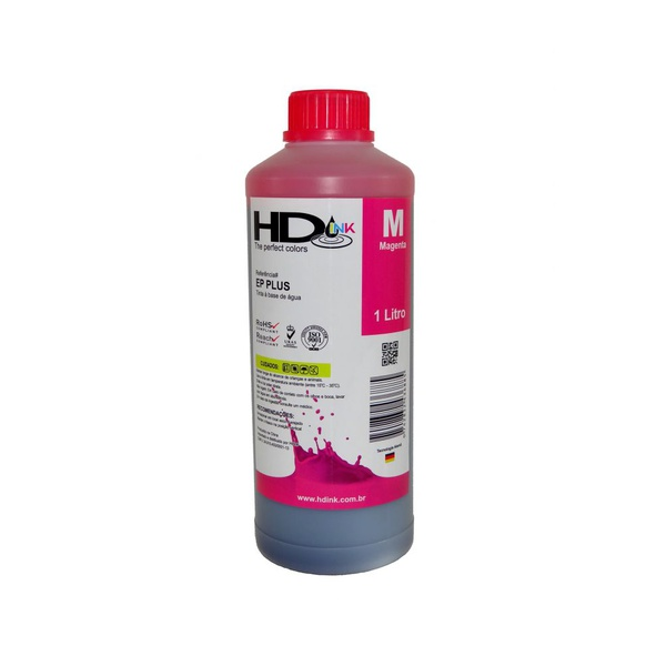 Tinta UV Compatível Epson / Brother - 500ml - Magenta