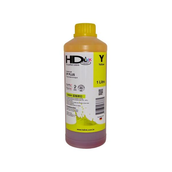 Tinta UV Compatível Epson / Brother - 500ml - Amarela