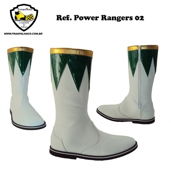 Bota Power Rangers Verde