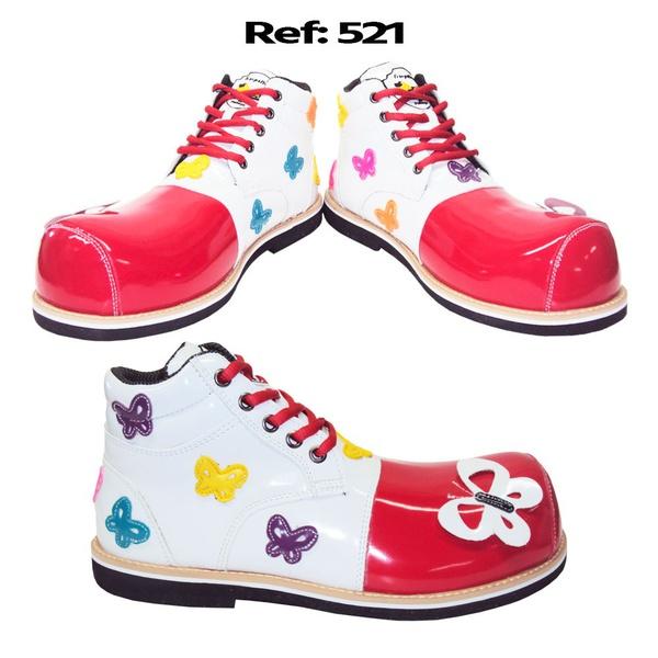 Sapato de palhaça borboletas REF 521