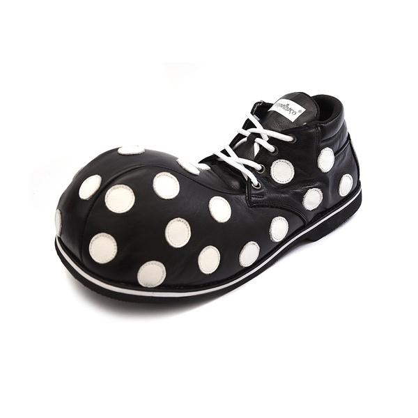 Sapato de Palhaço Bolinhas Cano baixo Ref 153