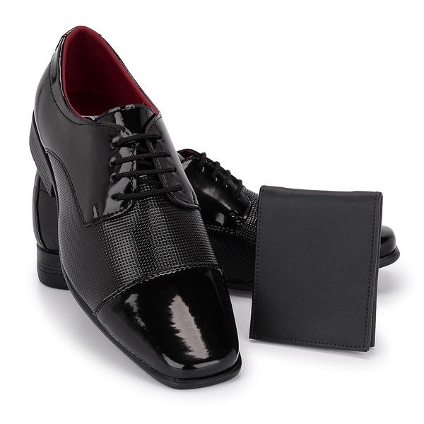 Sapato Social 801VP + Carteira