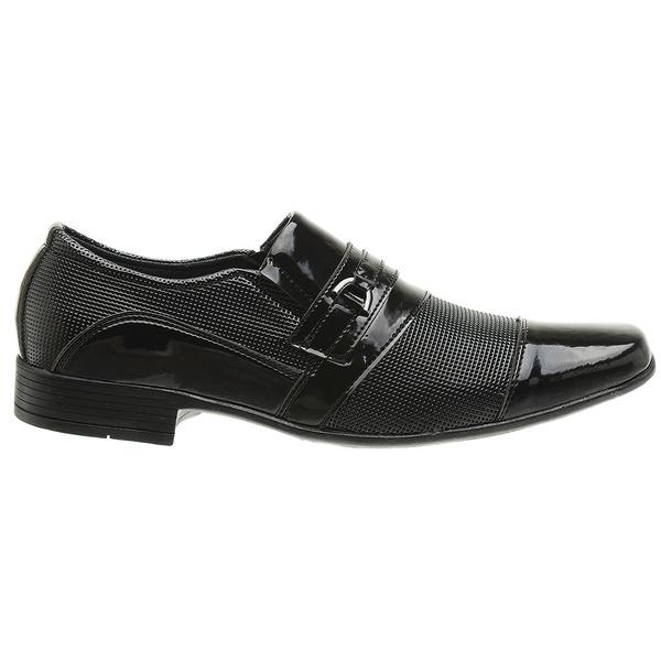 Sapato Social preto verniz 1021