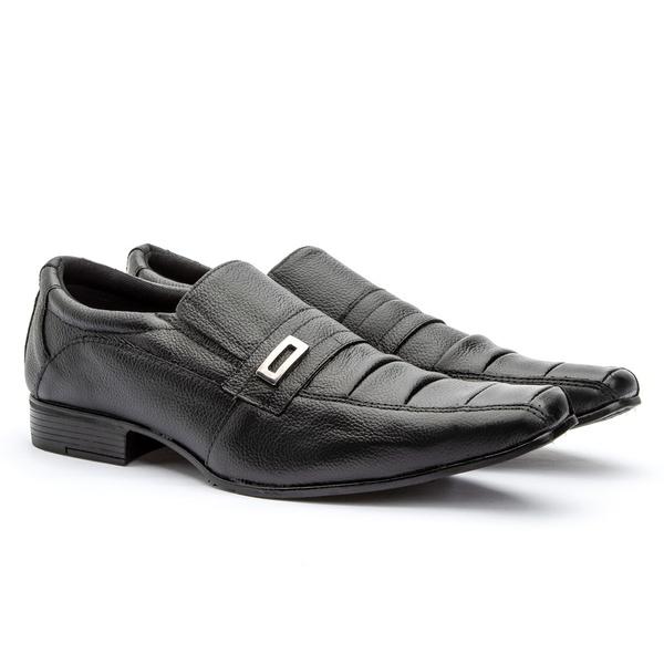 Sapato Social Preto 443 FT