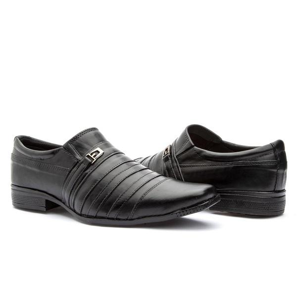 Sapato Social couro legítimo 777 ft