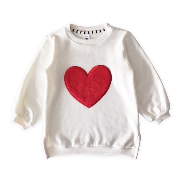 Blusão Moletom Coração