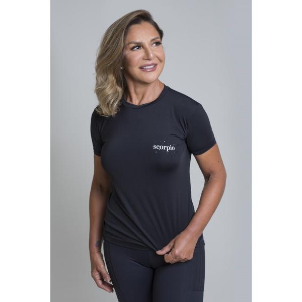 Camiseta Feminina Funfit - Signos Escorpião