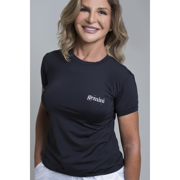 Camiseta Feminina Funfit - Signos Gêmeos