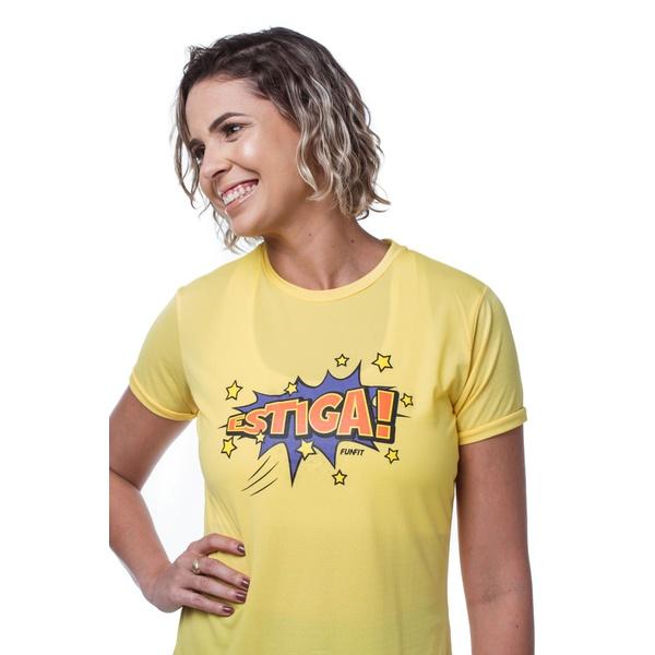 Camiseta Feminina Funfit - Estiga