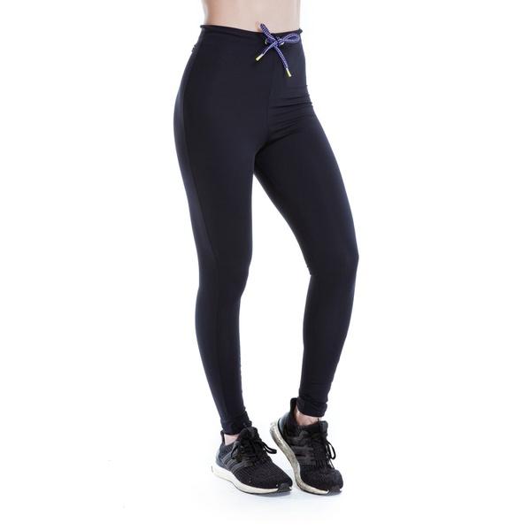 Legging Feminina Funfit - Pantone Cadarço Roxo