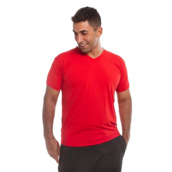 Camiseta Masculina Funfit - Básica vermelha