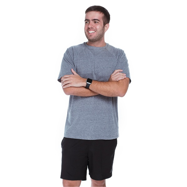 Camiseta Masculina Funfit - Eco Friendly Cinza