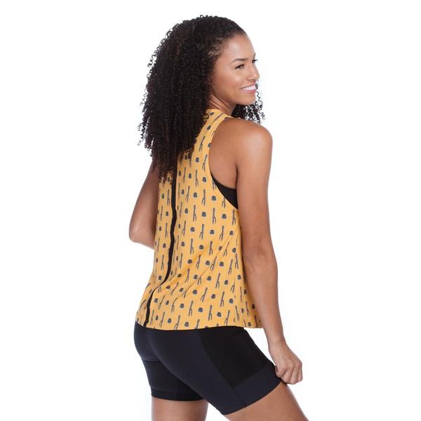 Regata Feminina Funfit - Cactos Amarela
