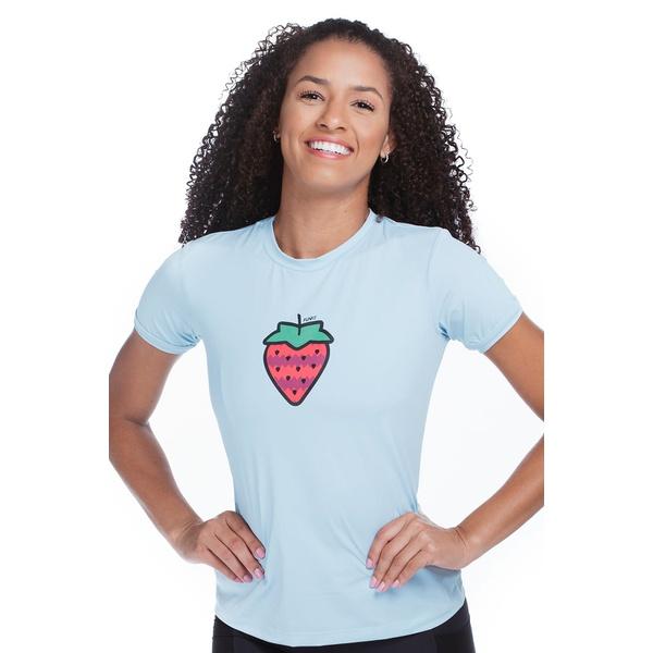 Camiseta Feminina Funfit - Morango