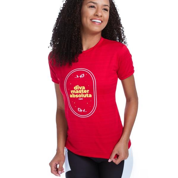 Camiseta Feminina Funfit - Diva Master Absoluta