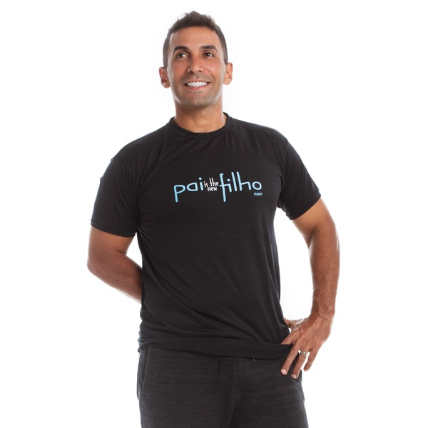 Camiseta Masculina Funfit - Pai