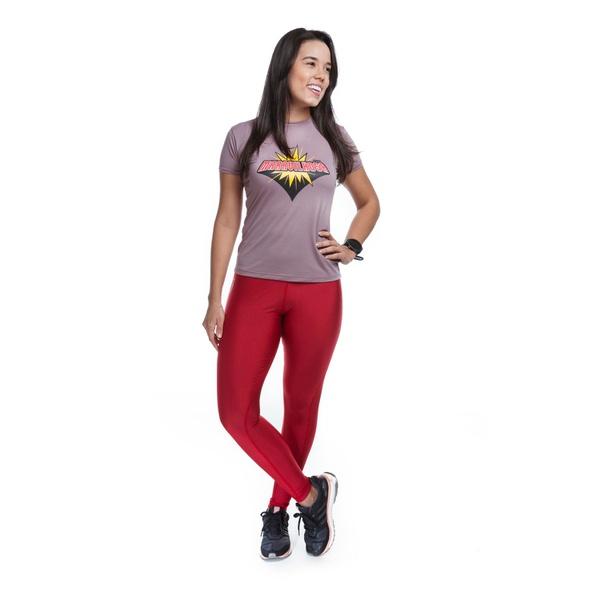 Legging Feminina Funfit - Viés Vermelho
