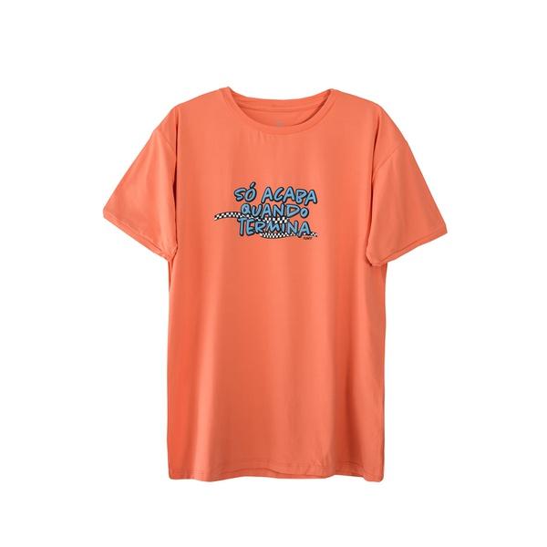 Camiseta Masculina Funfit - Só Acaba Quando Termina