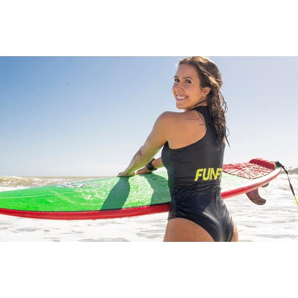 Maiô Feminino Funfit - M/C Surf Club Wetsuit