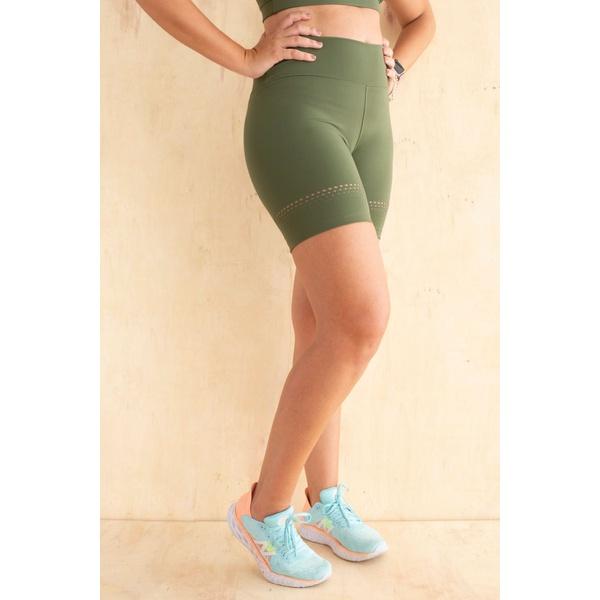 Short Feminino Funfit - Lia verde militar