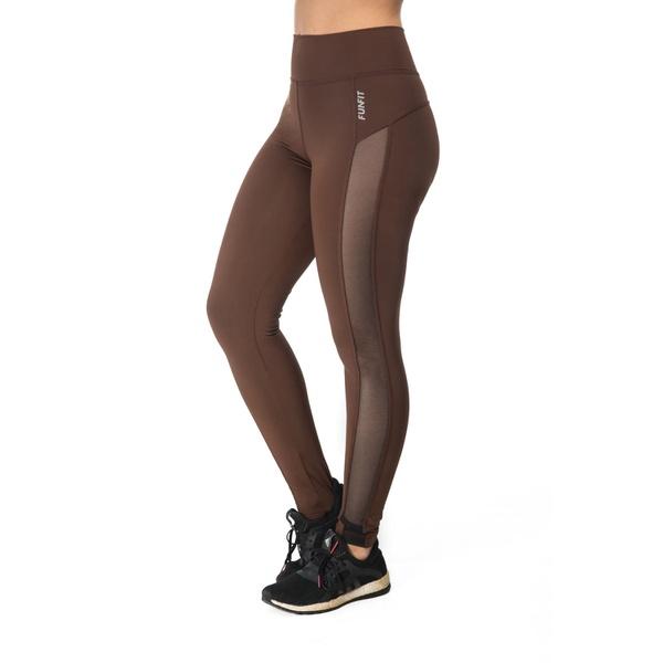 Legging Feminina Funfit - Bia Marrom