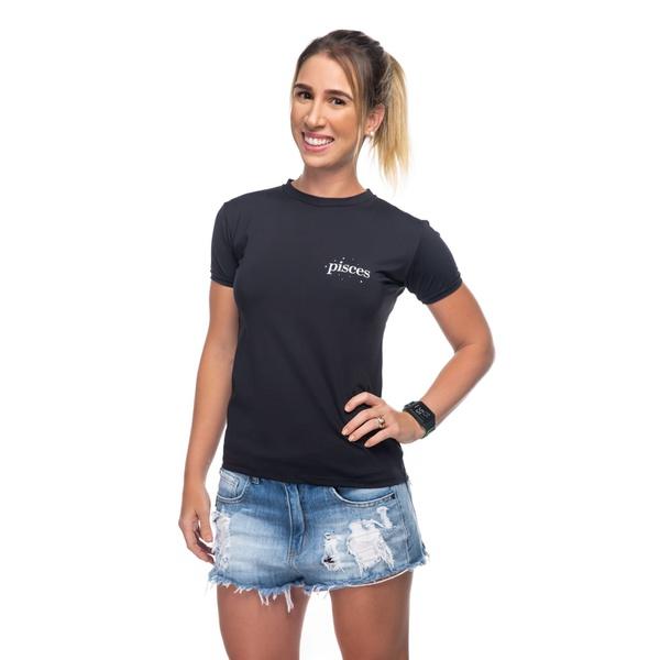 Camiseta Feminina Funfit - Signos Peixes