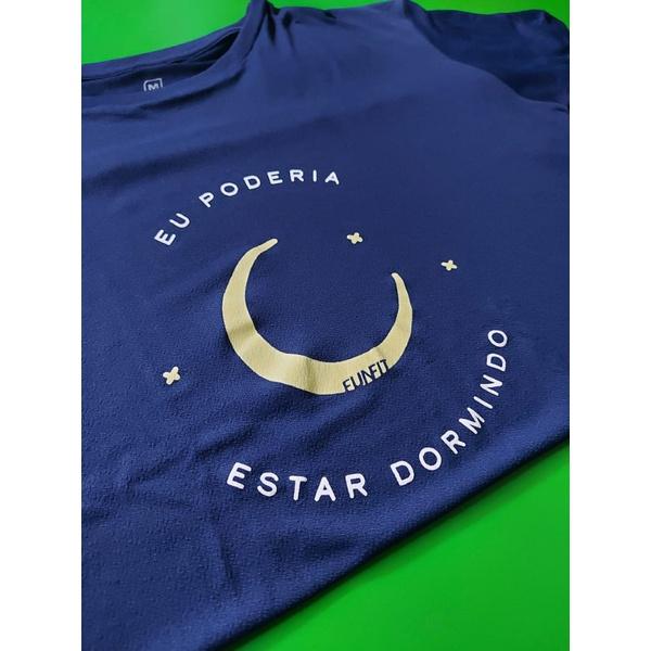 Camiseta Masculina Funfit - Eu poderia estar dormindo