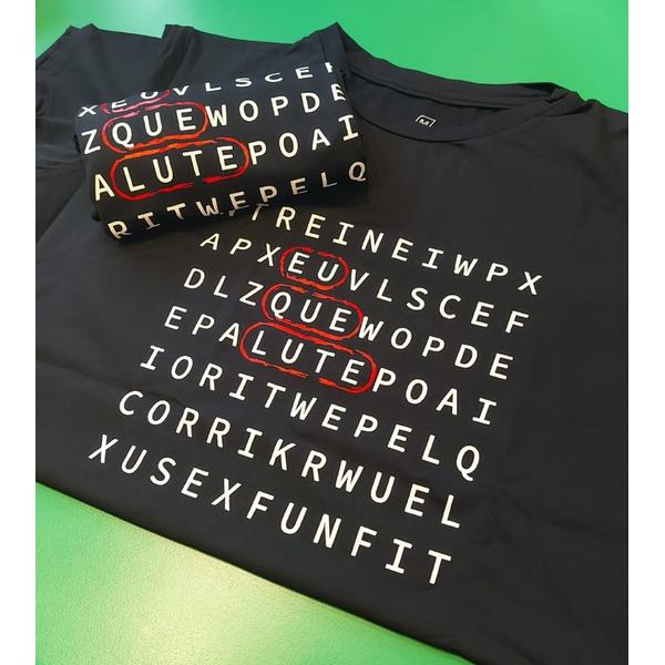 Camiseta Masculina Funfit - Eu que Lute preto