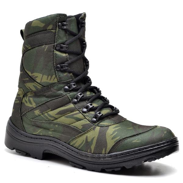 Bota Coturno Militar Adventure Camuflada