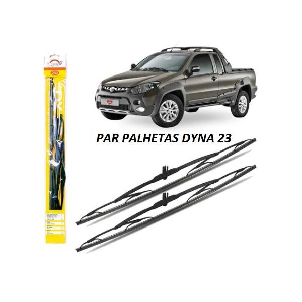 PALHETA PARA-BRISA DYNA DX23 STRADA/ PALIO / ECOSPORT / VESTRA / PAJERO