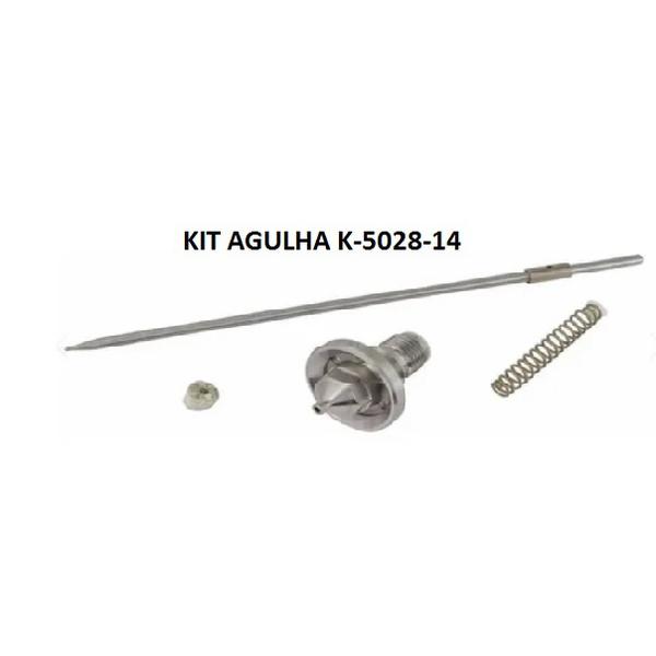 KIT BICO E AGULHA 1.4 K-5028-14 P/ DEVILBISS SGK 600