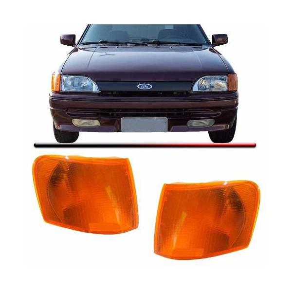 Lanterna Dianteira lado esquerdo - Escort 93/94/95/96 - Ambar original ( Arteb )