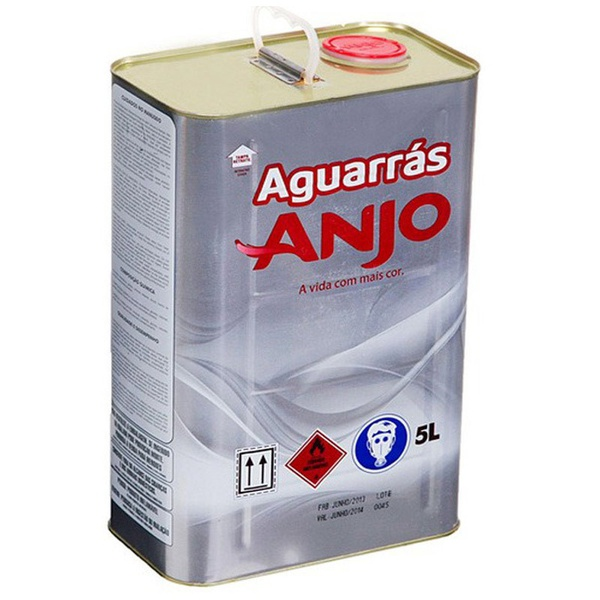 AGUARRÁS ANJO GALÃO 5 LITROS