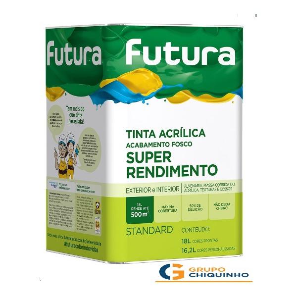 TiINTA LÁTEX FUTURA AMARELO CANÁRIO 18 LITROS