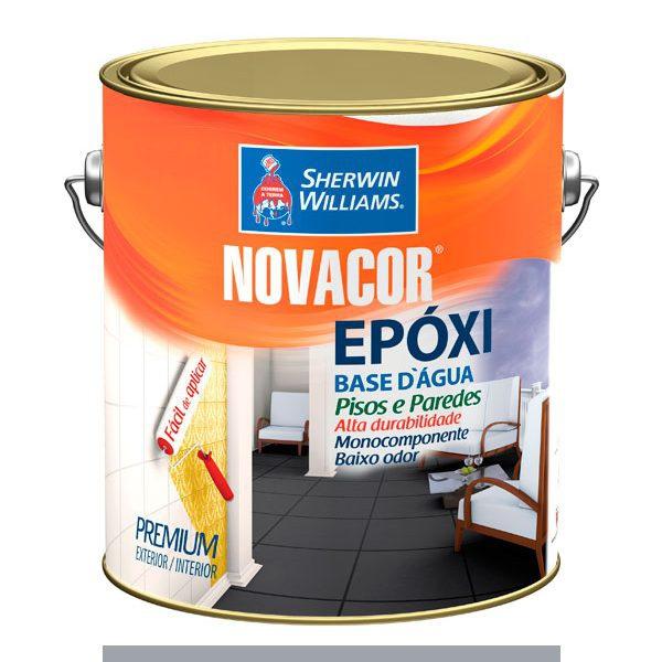 EPOXI NOVACOR BASE ÁGUA BRANCO 3,6 LITROS