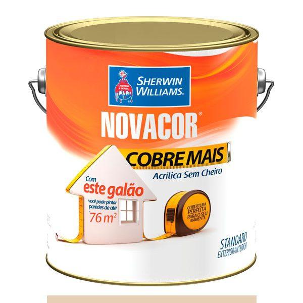 NOVACOR AACRÍLICO COBRE MAIS AREIA 3,6LTS