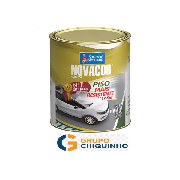NOVACOR PISO CINZA CHUMBO 900ML