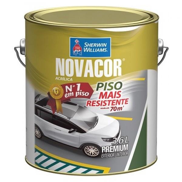 NOVACOR PISO AMARELO DEMARCAÇÃO 3,6 LTS