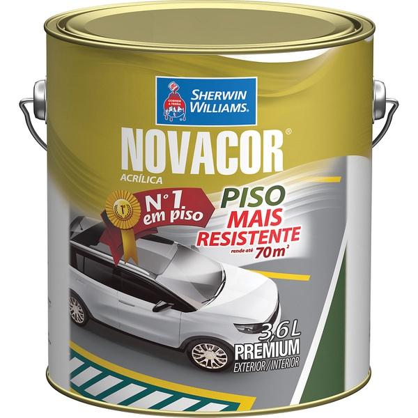 NOVACOR PISO CINZA CHUMBO 3,6 LTS
