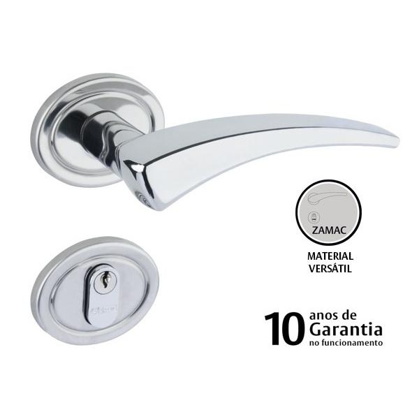 FECHADURA LAFONTE ROSETA 401 CR 420010085 EXTERNA