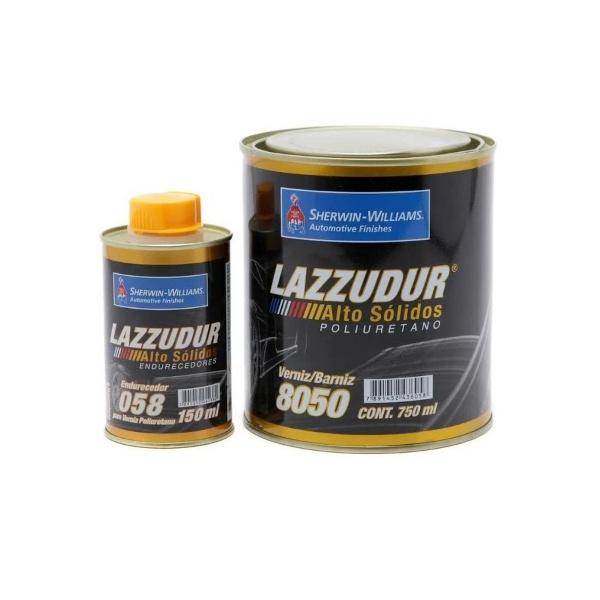 VERNIZ ALTO SÓLIDO 8050 COM ENDURECEDOR 058 LAZZURIL 900 ML