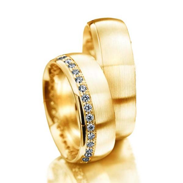 Aliança em ouro 18k Para Casamento