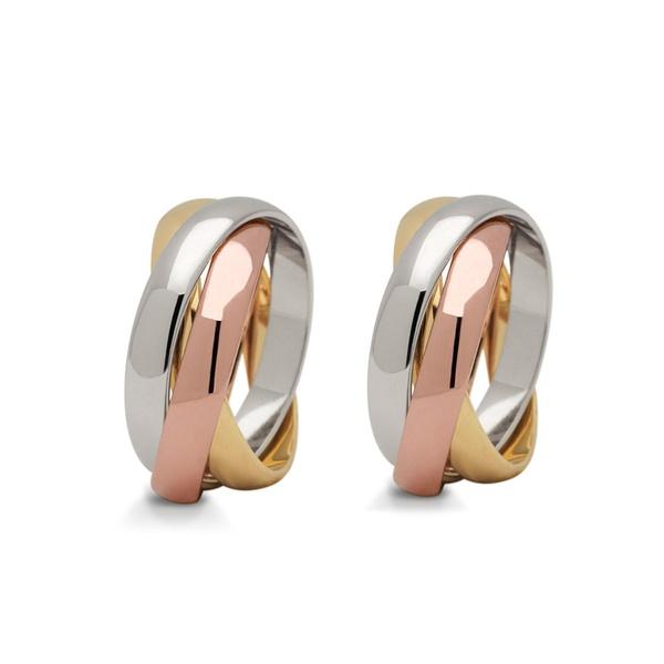 Aliança Cartier em Ouro 18k