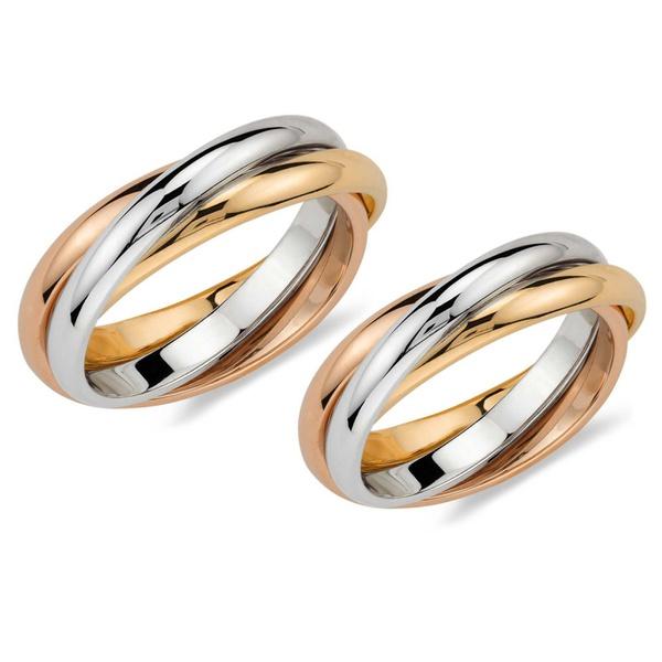 Aliança Cartier - Ouro 18k - Casamento, Noivado e Bodas